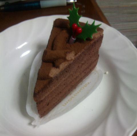 クリスマス 食べたケーキ
