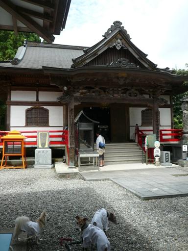 御本尊は5体。四国霊場で唯一だそうです。