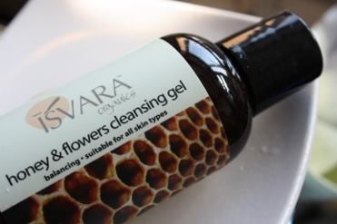 Isvara Organics, Honey & Flowers Cleansing Gel, 4 fl oz (118 ml)