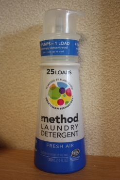 Method, Laundry Detergent, 25 Loads, Fresh Air, 10 fl oz (300 ml)