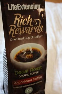 Life Extension, Rich Rewards, Decaf Roast, Ground Coffee, 12 oz (340 g