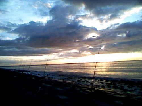 北吉原の朝