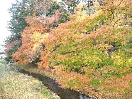 出石の深まる秋