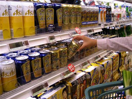 キリンの第3のビール「コクの時間」がヒット 400万ケース突破