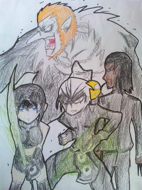 ゼノ&アン&黒&ドラ