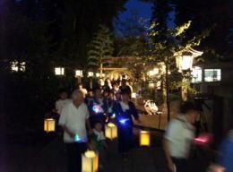 夏越の大祓茅の輪くぐり・千灯万灯祭