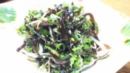 山椒の若芽の和え物