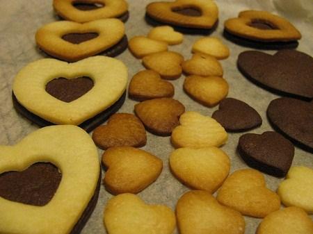 2010.2.13,チョコサンドクッキー