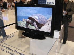 Haier社製ケーブルのないテレビ