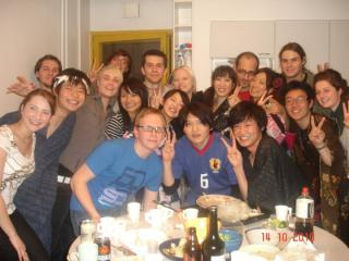 SushiPartyWith留学生!!