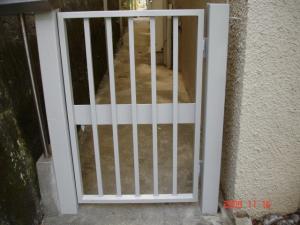 塗装工事後門扉