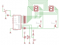ラミィキューブタイマー回路図