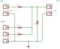 パッシブミキサー回路図
