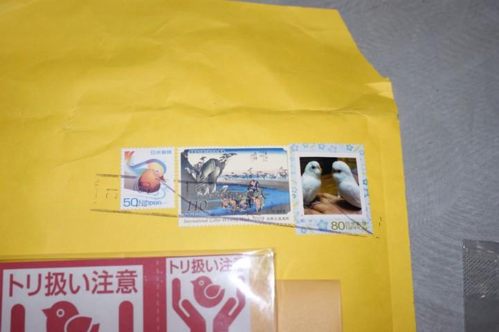 チロちゃん&ナツちゃん切手