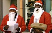 Galatina市のブラッククリスマス