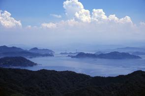 鷲ヶ頭山頂からの風景