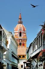 Catedral en Cartagena