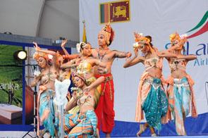 スリランカの舞1