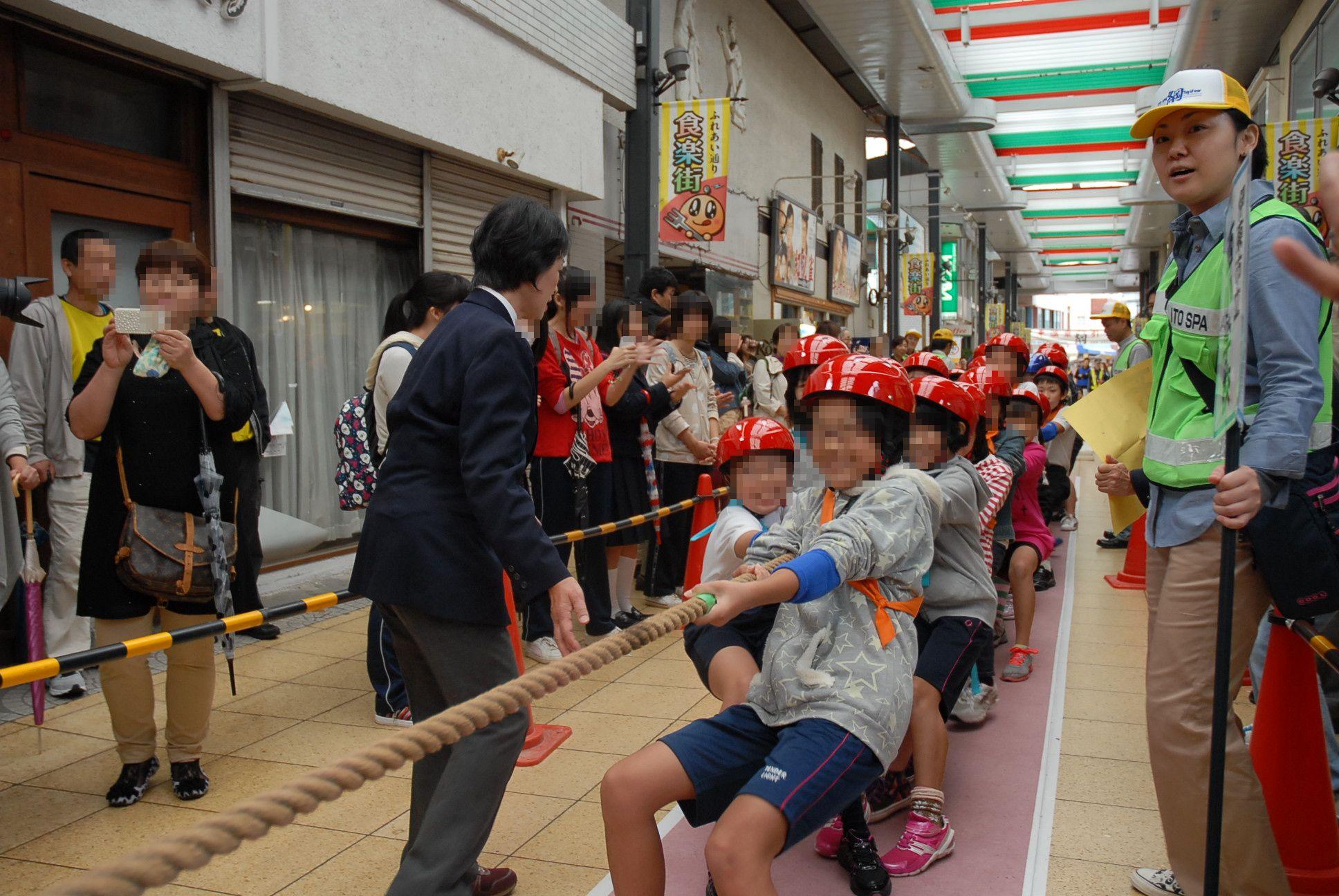 綱引き大会(小・中学生の部)