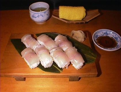 イワナ寿司