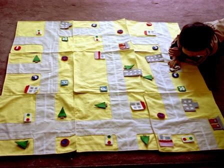 昔の手芸作品 ロードゲーム 1