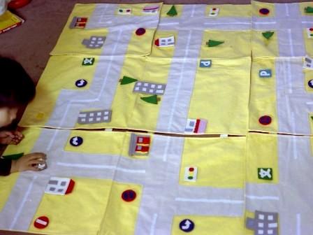 昔の手芸作品 ロードゲーム 2