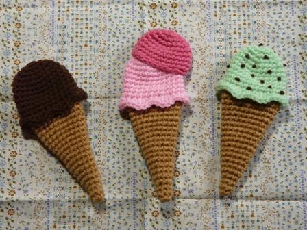 エコたわし アイスクリーム