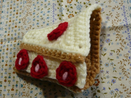 エコたわし ショートケーキ 2
