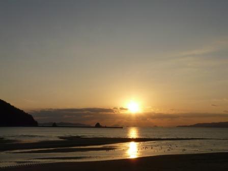 モンチッチ海岸 夕景 1