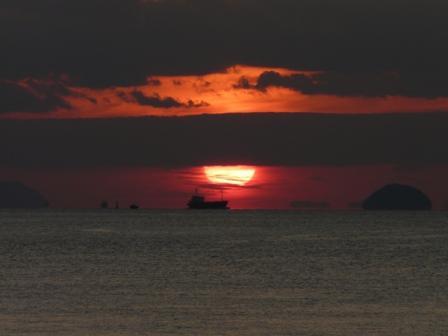 モンチッチ海岸 夕景 3
