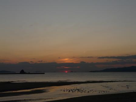 モンチッチ海岸 夕景 8