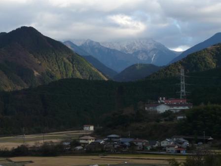 西条 雪の山 1