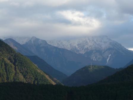 西条 雪の山 2