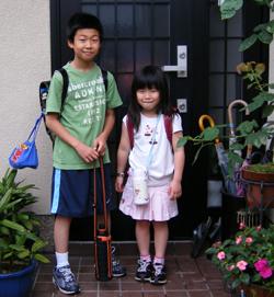 2010.6.16_翔太&彩香_登校