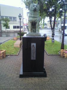 ハチ公銅像・