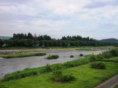 桧木内川の風景 2