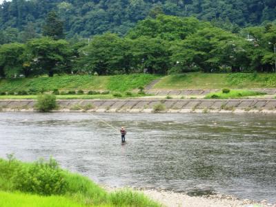桧木内川の風景 1