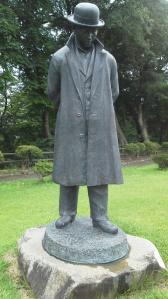 ④賢治先生銅像
