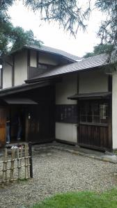 ⑥賢治先生の家玄関