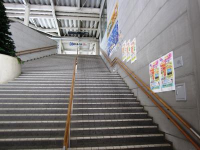 階段下より