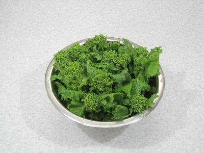 菜の花の混ぜご飯 作り方①