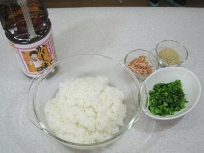 菜の花の混ぜご飯 作り方③
