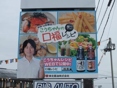 秋田市新国道沿いA面アップ1