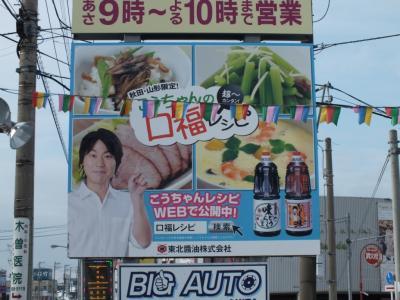 秋田市新国道沿いB面アップ1