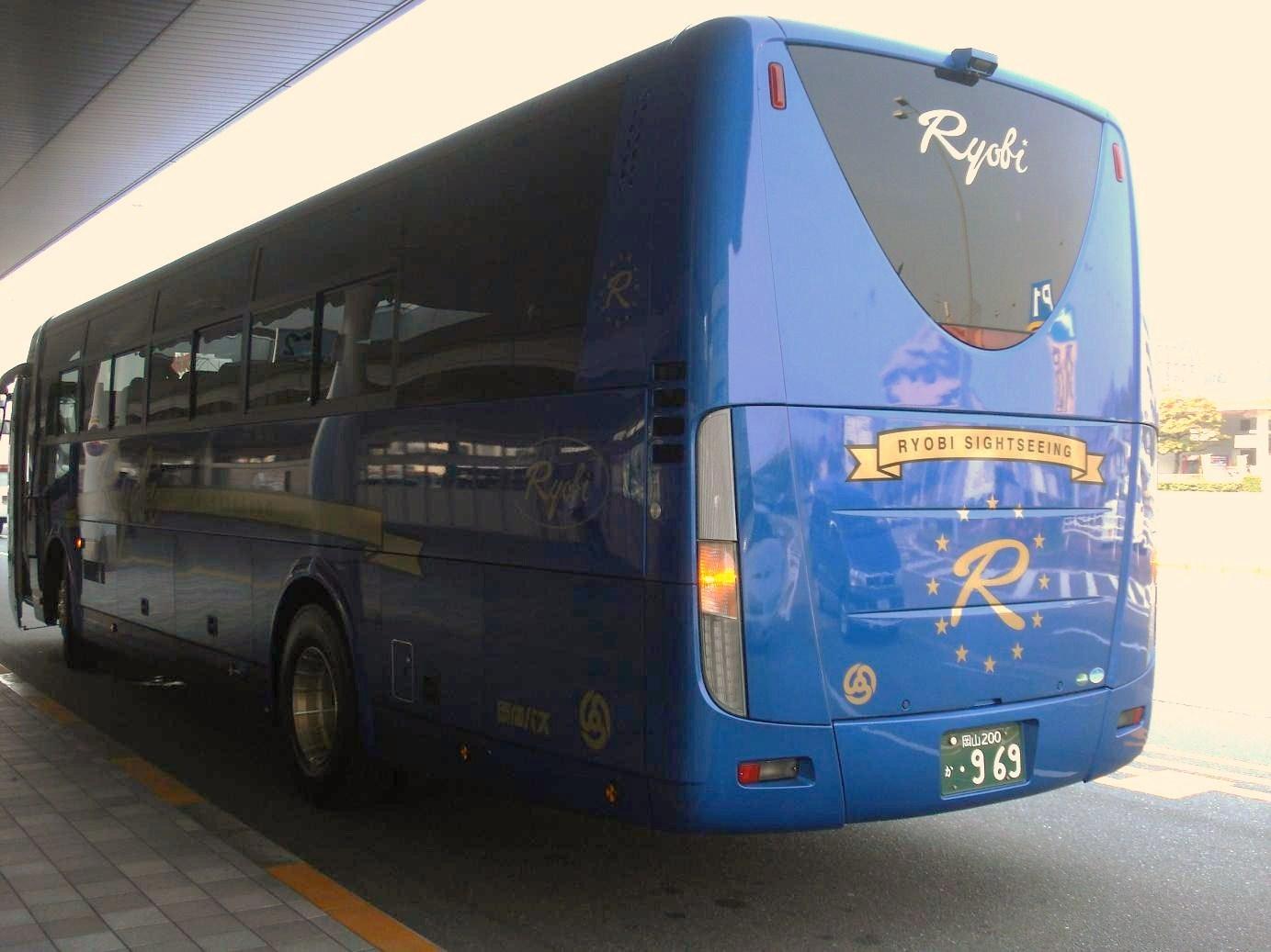 両備バス【岡山200か・969】2