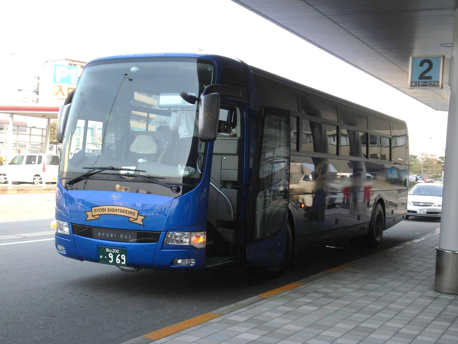 両備バス【岡山200か・969】1