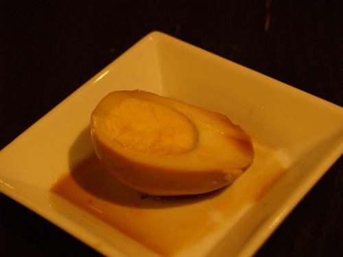 洋風煮玉子の燻製