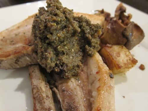豚三枚肉のアールグレイ煮込み