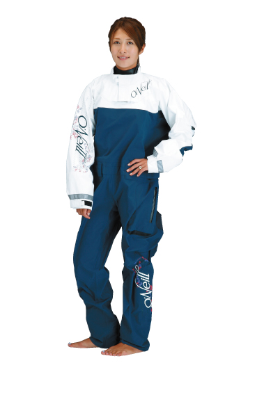 VAPOR LIGHT DRYSUITSⅠWOMEN'S ネイビー/ホワイト