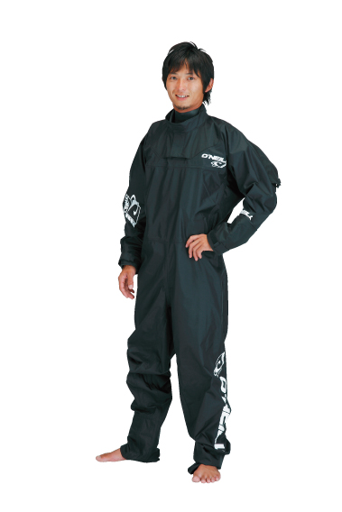 BOOST LIGHT DRYSUITS ブラック/ホワイト FRONT